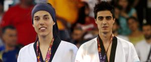 Eva Calvo y Joel González fueron plata. Fuente: COE