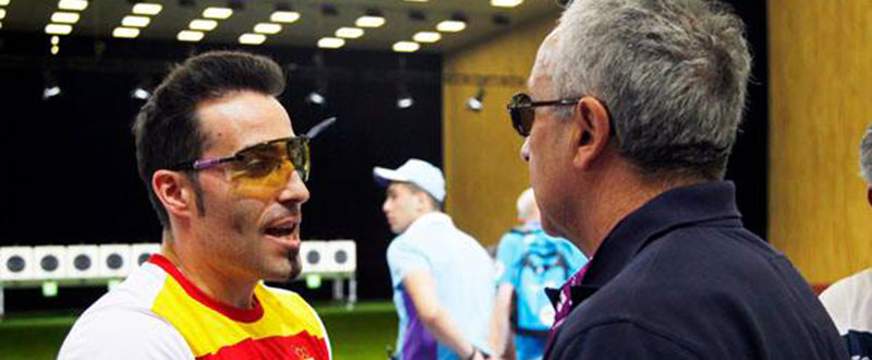 Jorge Llames en los Juegos Europeos de Baku. Fuente: COE