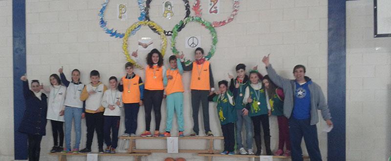 Las Olimpiadas Escolares celebradas en 2012. Fuente: FAO