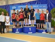 Gran nivel en los Campeonato de España de Tenis de Mesa