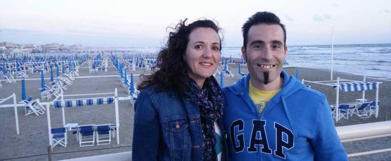 Sonia Franquet y Jorge Llames. Fuente: AD