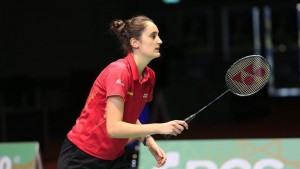 Clara Azurmendi. Fuente: badminton.es