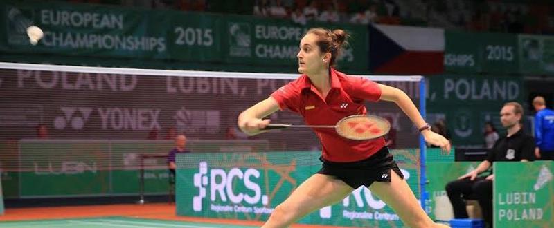 La jugadora española de bádminton, Clara Azurmendi. Fuente: badminton.es