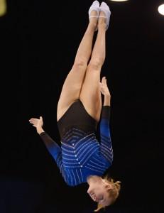 Claudia Prat en un campeonato. Fuente: RFEG