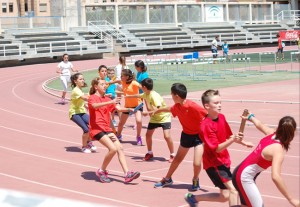 2º día competición con las pruebas de atletismo. Fuente: AD