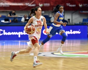 Anna Cruz. Fuente: FIBA