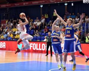Silvia Domínguez. Fuente: FIBA