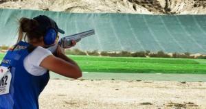 La cordobesa con su escopeta. Fuente: AD