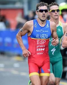 El triatleta manchego. Fuente: ITU