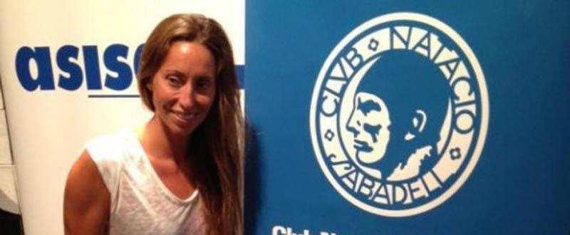El icono de la sincro en España. gemma Mengual, regresa a la competición. Fuente: CN Sabadell