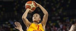 Inma Zanoguera. Fuente: FIBA