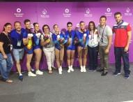 Oro y bronce aeróbico para España en los Juegos Europeos