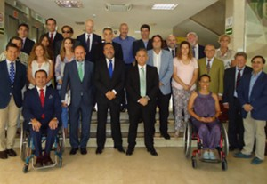El Comité Olímpico Español tras la reunión donde han decidido los criterios e selección. Fuente: CPE