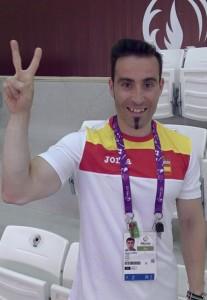 Jorge Llames en los Juegos Europeos de Baku. Fuente: Rfedeto