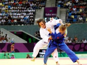 La judoka Julia Figueroa. Fuente: COE