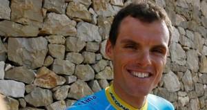 El ciclista Luis León. Fuente: AD