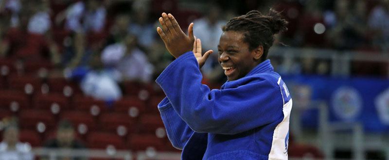 La judoka alicantina, María Bernabéu. Fuente: rfejudo