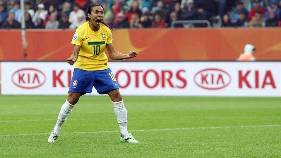Marta. Fuente: FIFA