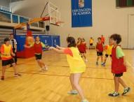 1ª fase del torneo de minibasket en la Olimpiada Escolar