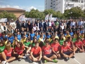 Olimpismo en la escuela. Fuente: Archivo Avance Deportivo