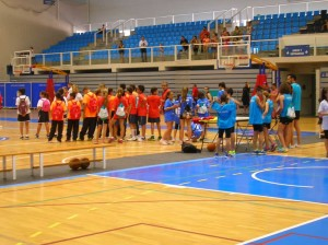 Acto inaugural Olimpiada Escolar Andaluza 2015. Fuente: Avance Deportivo