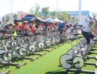 El asfalto se cubre de deporte en Granada