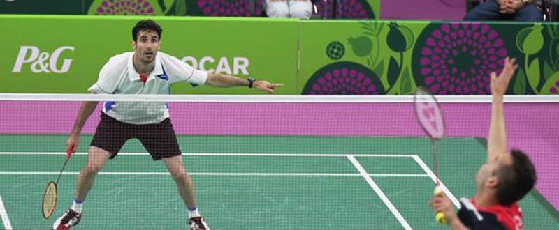 Pablo Abián debuta con victoria en los Juegos Europeos. Fuente: Badminton