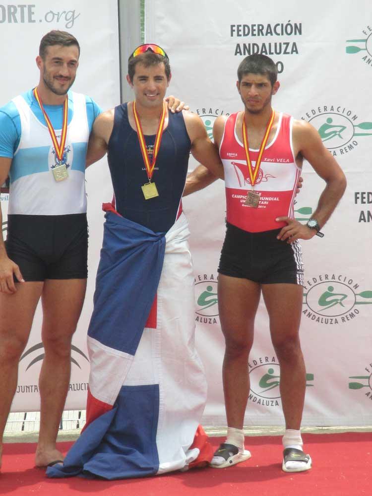 José Gomez-Feria (en medio). Fuente: Mariló Carvajal / Avance Deportivo