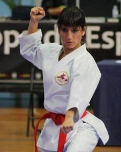Sandra Sánchez. Fuente: Federacion Canaria Karate