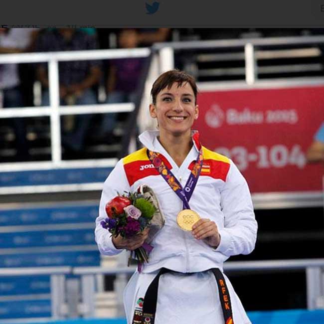 Sandra Sánchez. Fuente: AD
