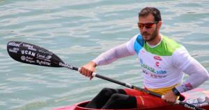 Saúl Craviotto durante una competición. Fuente: RFEP