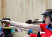 Sonia Franquet, una pistolera de plata en Baku
