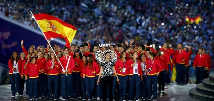 España en la ceremonia inaugural de los Juegos Europeos de Baku. Fuente: Baku2015
