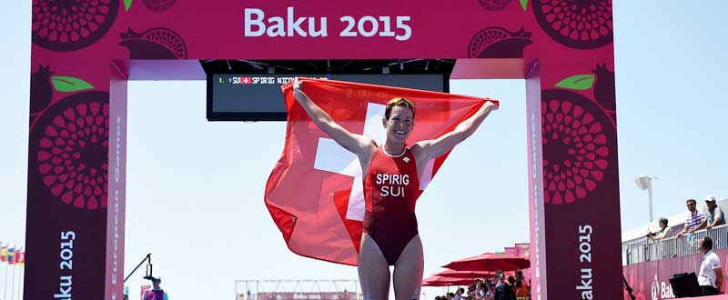 Nicola Spirig en Baku 2015. Fuente: Matthias Hangst/Getty Images
