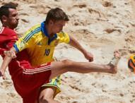 La Roja de fútbol playa logra el 5º puesto en Baku