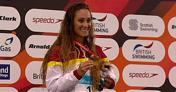 Sarai Gascón, campeona del mundo.