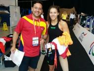 Nuria Marqués se cuelga la medalla de plata en Glasgow