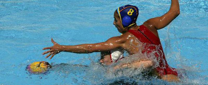 La española Pilar Peña durante el Mundial de Kazan. Fuente: AD