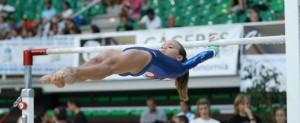 Los Nacionales de gimnasia se disputan en Cáceres hasta el próximo domingo.