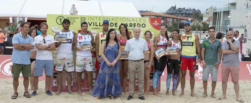 Los vencedores de los III Internacionales de Laredo. Fuente: Iñaki Sola