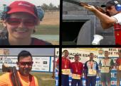 Eva Clemente, Kako Aramburu, José Luis Rodríguez Uris, Jorge Llames y Javi López, campeones de España