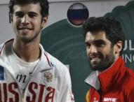 Pablo Andújar da el 2º punto a España en Rusia