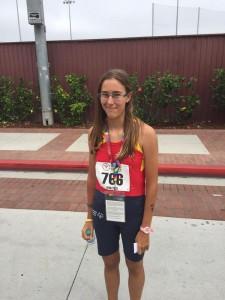 Beatriz Doral ha sido bronce en 400 metros. Fuente: @SpecialOlympESP.