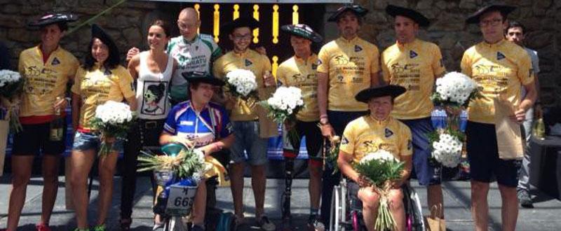 La selección española de ciclismo adaptado. Fuente: Rfec