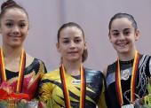 Néstor Abad y Ana Pérez, campeones en gimnasia artística