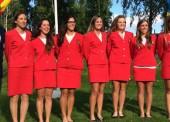 Medalla de bronce para el equipo femenino de golf