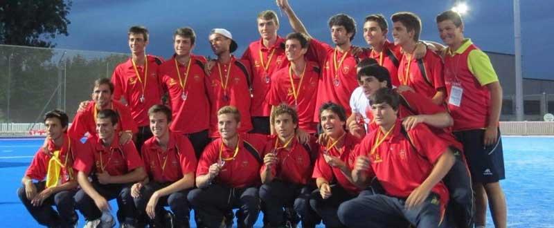 España sub18 hockey hierba. Fuente: rfeh.es