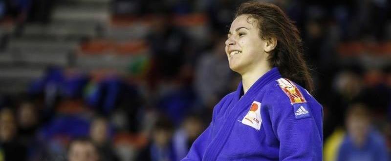 Laura Martínez. Fuente: Unión Europea de Judo