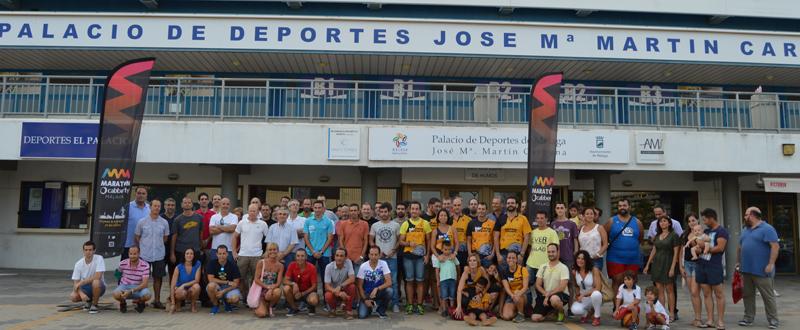 Presentación entrenamientos Maratón Cabberty Málaga. Fuente: ML/Avance Deportivo