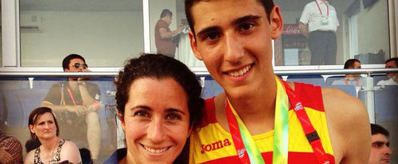 Pol González, bronce en los 100 metros libres en FOJE. Fuente: AD